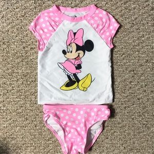 Disney Old Navy NWOT Minnie Mouse tankini sz 3t